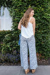 Turning A New Leaf Palazzo Pants