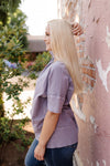 Fields of Violet Knit Tunic