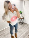 Lush Lush Kiss Lightweight Sweater