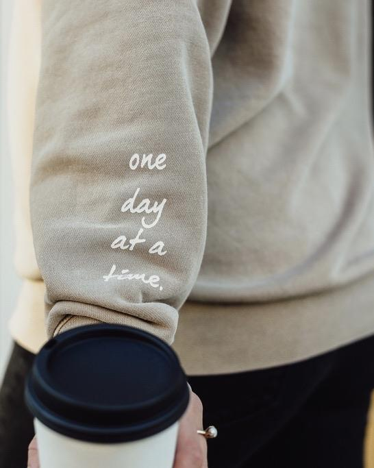 One Day At A Time Crewneck