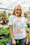 A Rainbow Of Good Vibes Graphic Tee