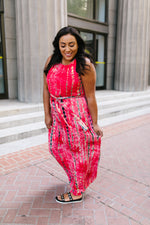 Bamboozled Red Maxi Dress