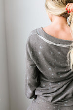 Galaxy Charcoal Top