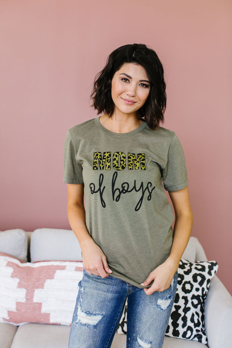 Mom Of Boys Graphic Tee