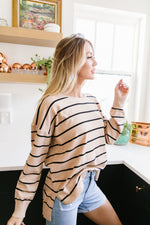 New Attitude Striped Top