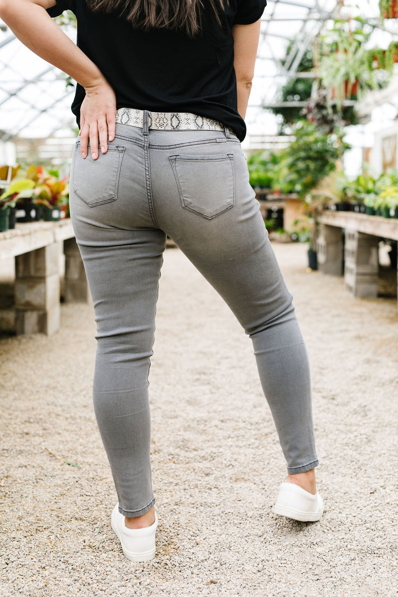 Night Or Day Gray Jeans