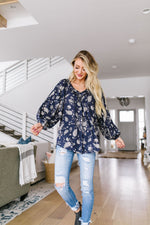Plainly Adorable Paisley Blouse
