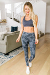 Striped Camo Athletic Leggings