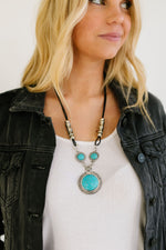 Turquoise Heaven Pendant Necklace