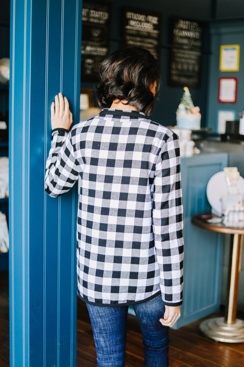 Winter Plaid Pullover