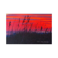 Load image into Gallery viewer, Destin Dunes at Sunset Ps. 57:10 Postcards (7 pcs) Item 1120022