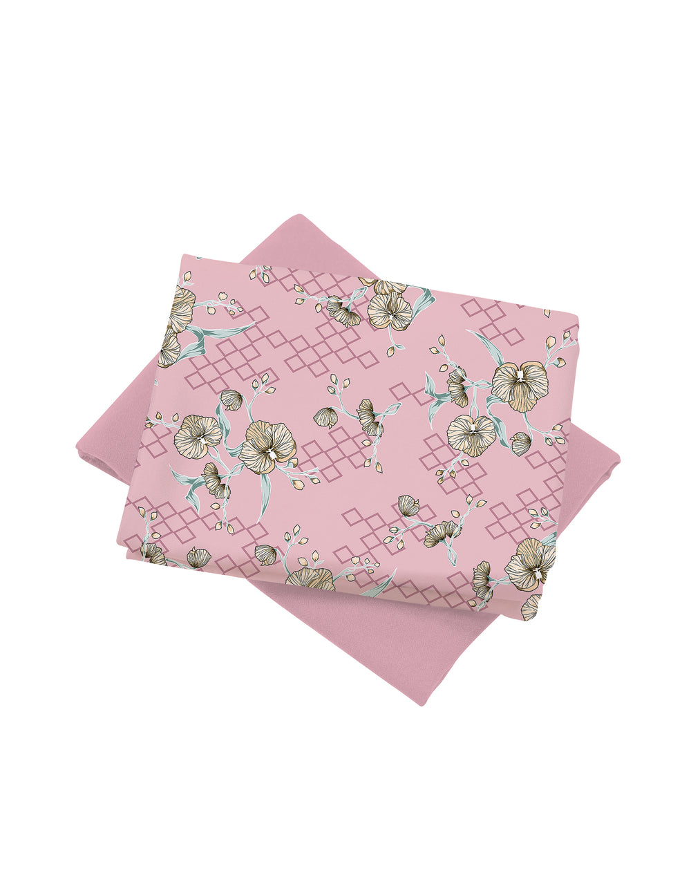 Mix and Match Palino Crepe Camellia (Dusty Pink)