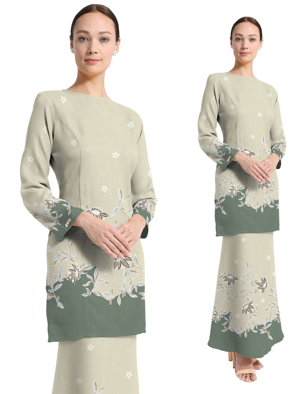 Palino Crepe Eisha (Pastel LIght Green)