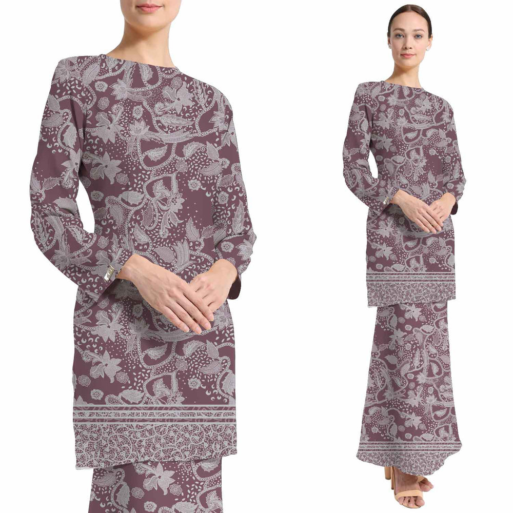 BATIK COTTON-D2-C2 - MAUVE