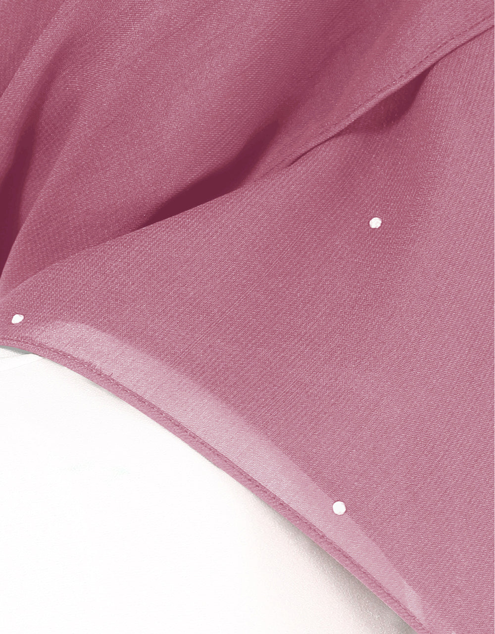 Chiffon Square Bawal With Stone Col. 26 (Plum Pink)