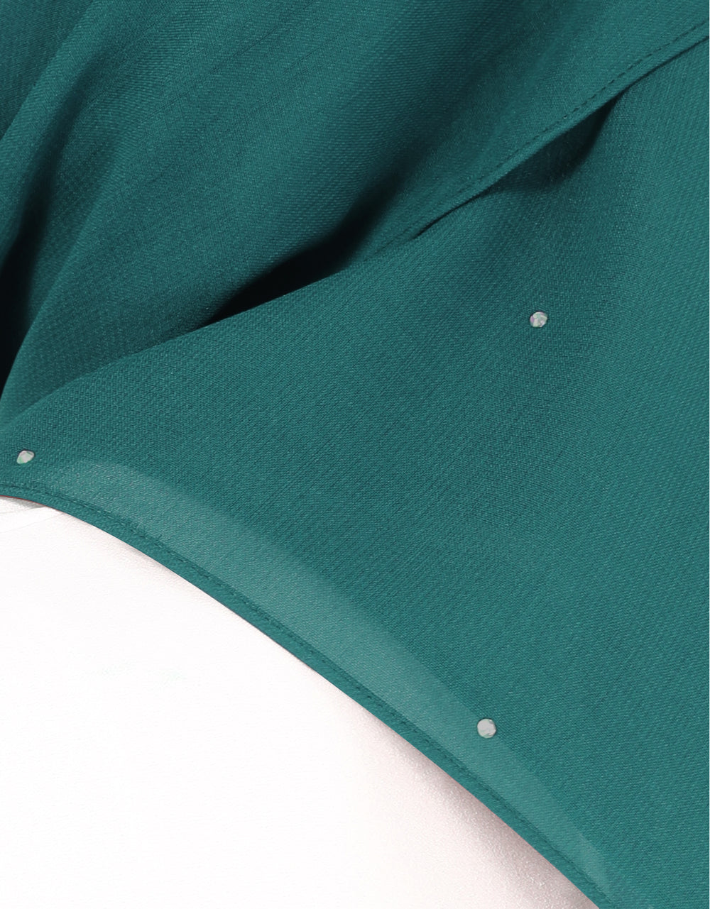 Chiffon Square Bawal With Stone Col. 61 (Tiffany Green)