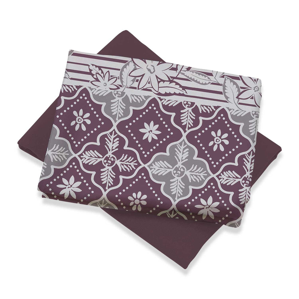 COTTON MIX AND MATCH D4-C2 - FERRA PURPLE