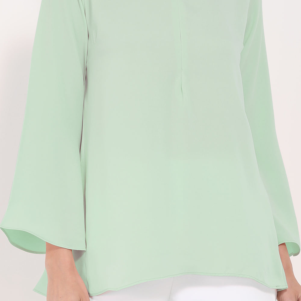 Beatrice Blouse - Spruce Green