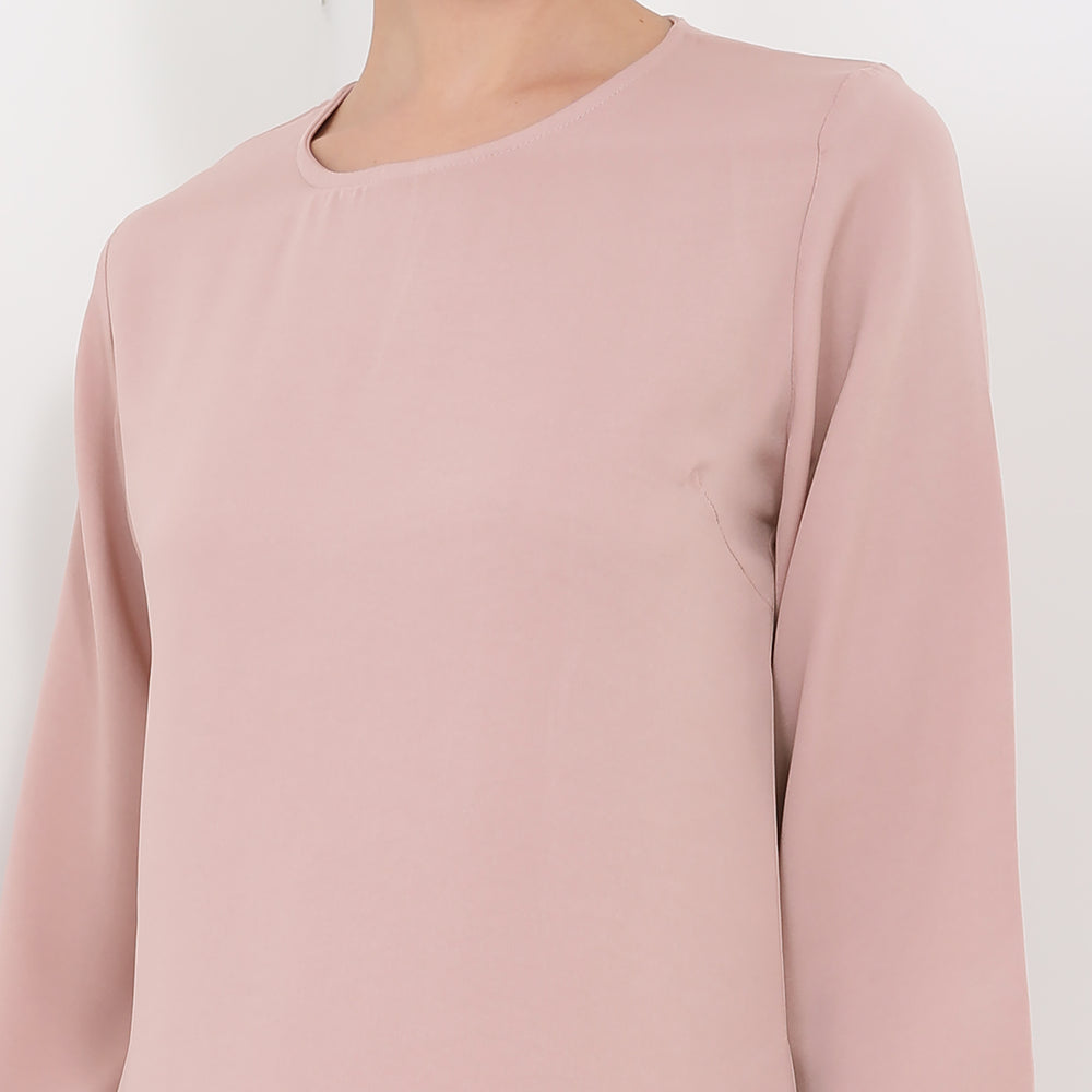 Charlotte Blouse - Rose Peach