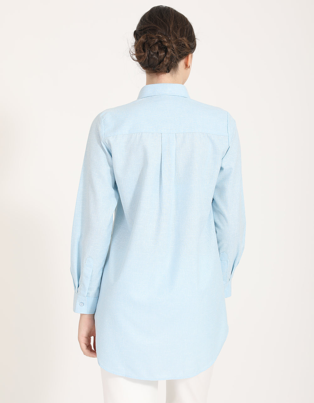 Citra Blouse (Baby Blue)