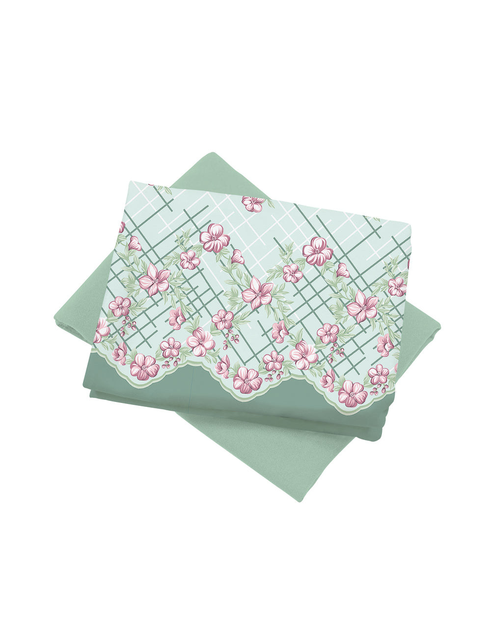 Mix and Match Palino Crepe Camellia (Mint Pale Green)
