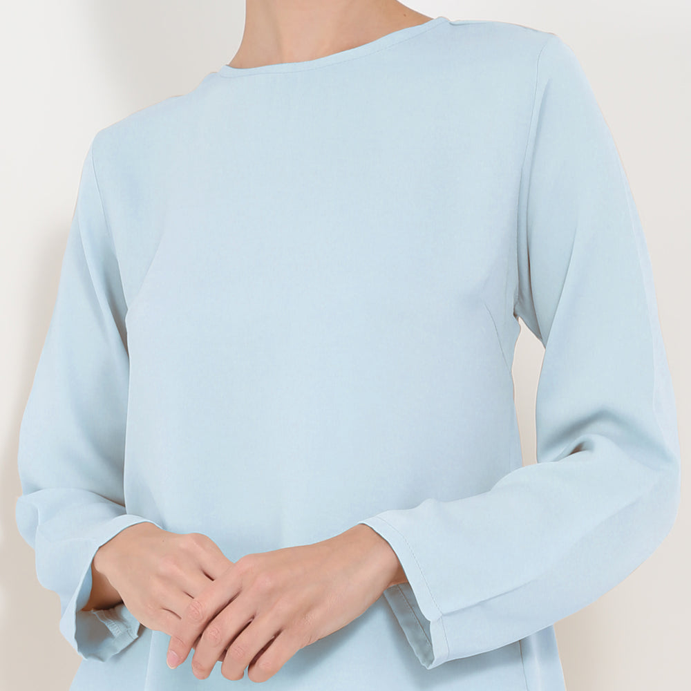 Eugenie Blouse - Baby Blue