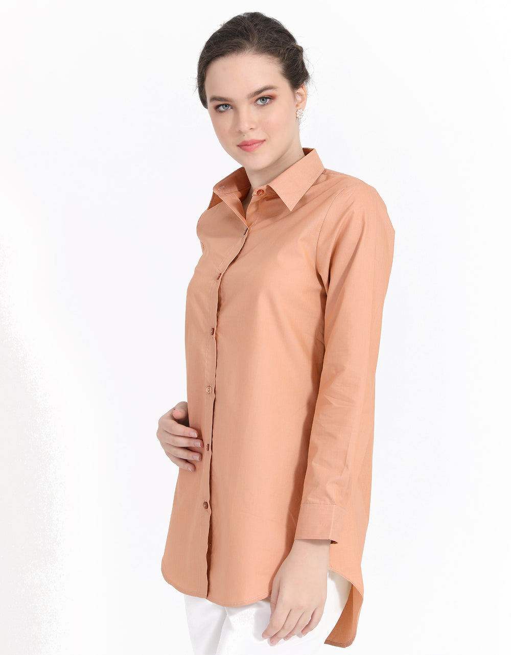 Filafil Blouse (Rose Peach)