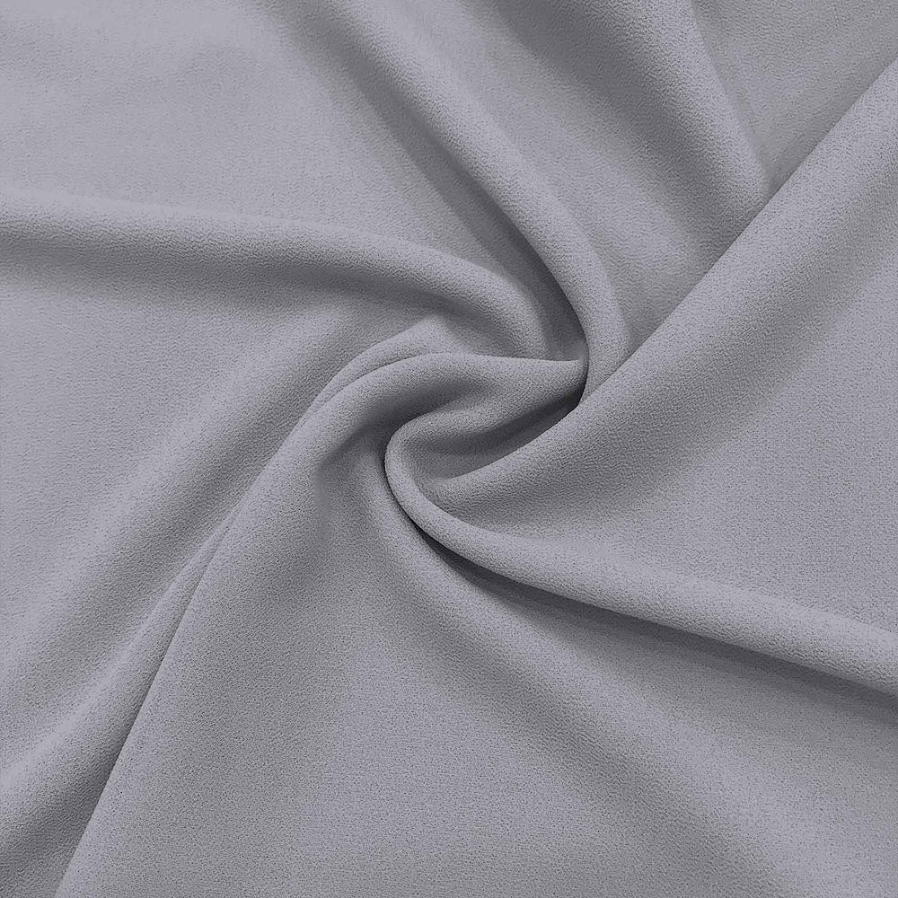 Plain Heavy Chiffon -C005- Grey