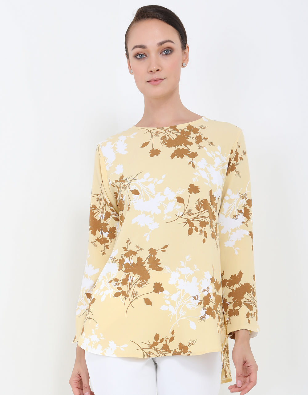 Vienna Tunic - Yellow
