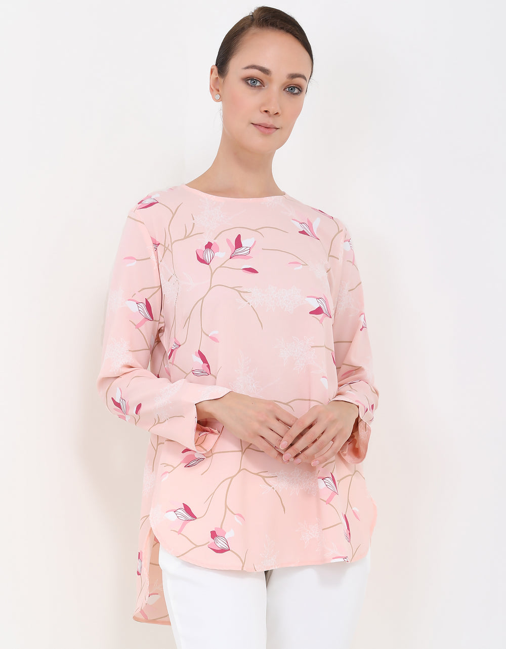 Vienna Tunic - Rose Peach
