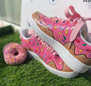 Custom Doughnuts Air Force 1