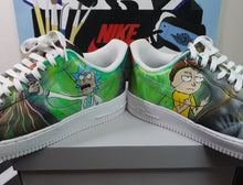 Load image into Gallery viewer, Galaxy Rick and Morty Customs