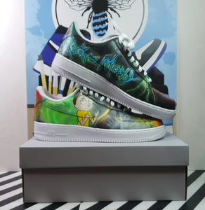 Galaxy Rick and Morty Customs