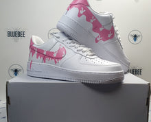 Load image into Gallery viewer, Custom Nike Air force 1 Pink Drip