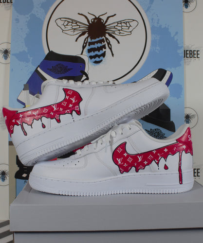 Custom Air Force 1 Drips