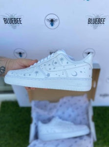 Air force 1 Moon & Stars Reflective HTV vinyl