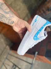Load image into Gallery viewer, Baby blue LV swoosh