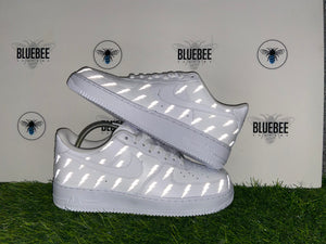 Custom Air Force 1 Lightening bolts