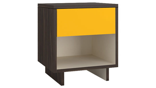 Adona Adonica Fusion Bedside Table w/Drawer in Plywood