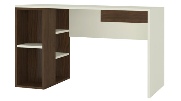 Adona Astra Study Desk w/Open Shelves and Drawer