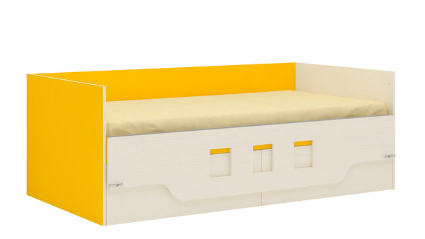 Adona Calypso Kids Single Bed with Folding Retainer and Drawers