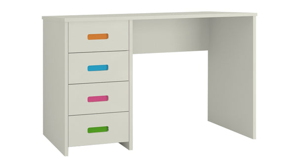 Adona Casablanca Ivory Multicolor Study Desk w/4 Drawers