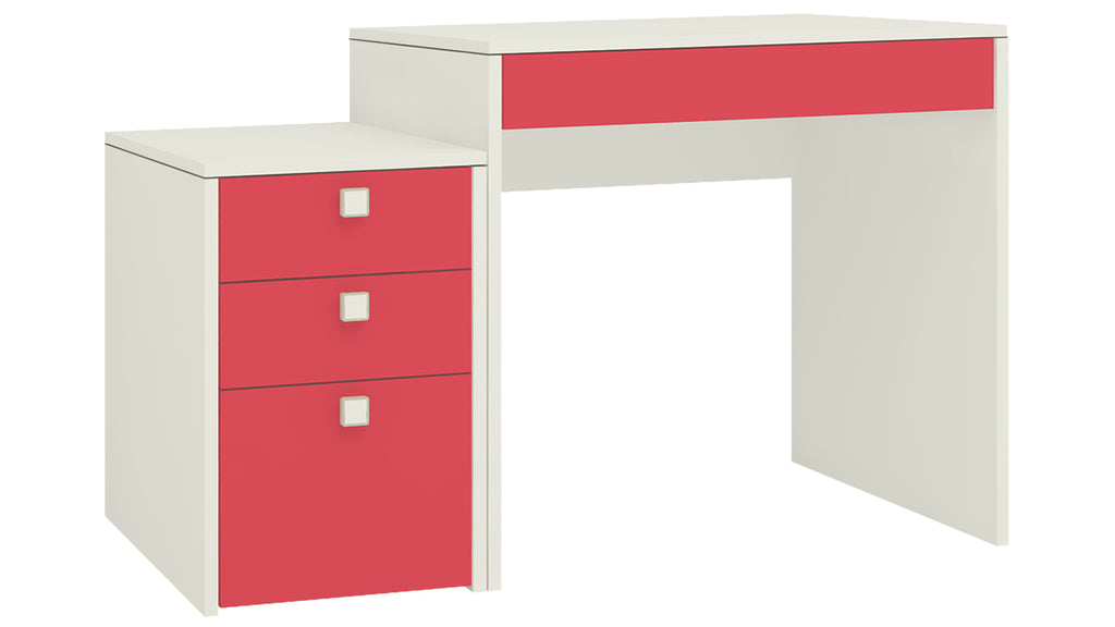 Adona Eskada Kids Study Desk-cum-Printer Table w/4 Drawers