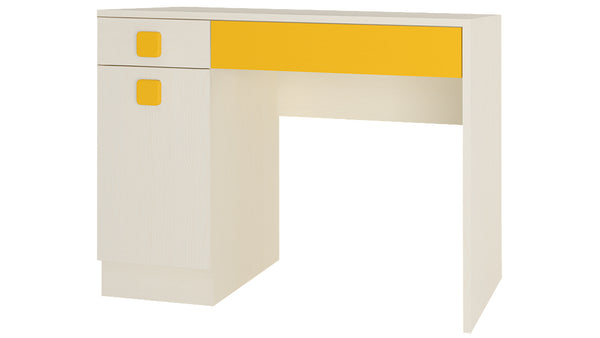Adona Kristina Kids Study Desk with Shuttered Cabinet and 2 Drawers