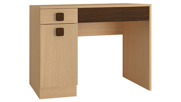 Adona Kristina Study Desk w/Shuttered Cabinet and 2 Drawers