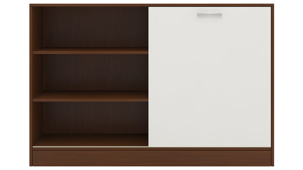 Adona Modena Sideboard-cum-Crockery Cabinet with Sliding Shutter and 4 Drawers