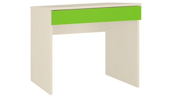 Adona Primera Kids Study Desk with Drawer Light Wood-Grain Finish