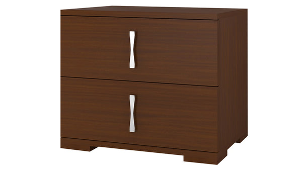 Adona Roca Bedside Table w/2 Drawers