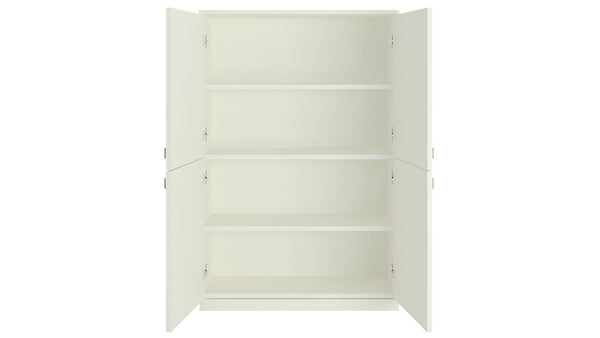 Adona Romano Ivory Storage and File Cabinet
