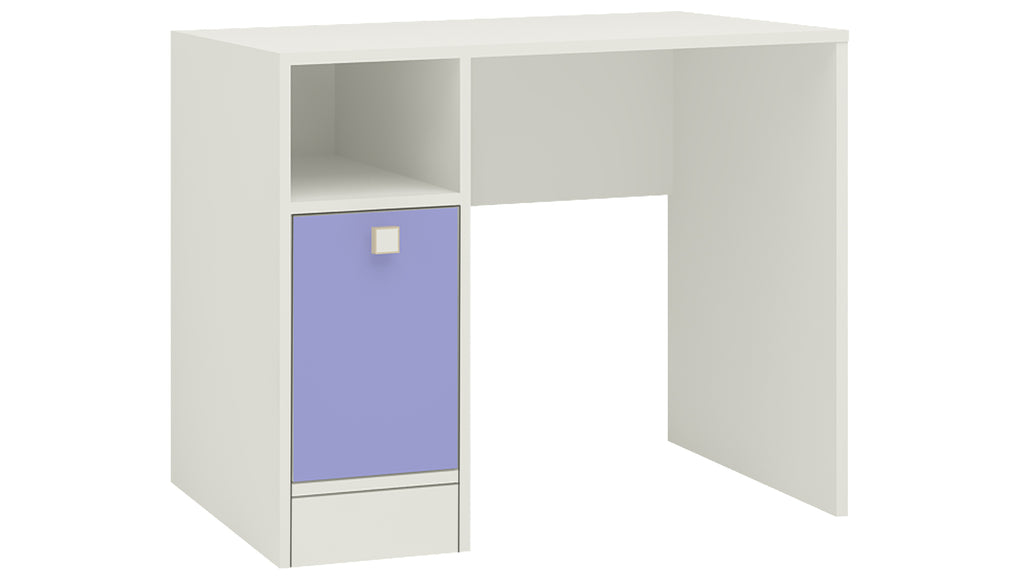 Adona Sonoma Kids Study Desk with Shuttered Cabinet and Open Shelf